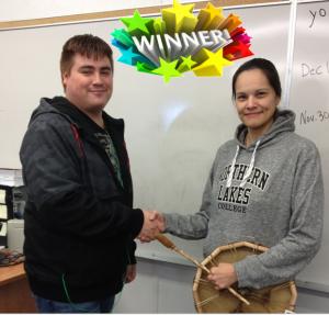 High Prairie Campus Student Union Raffle Prize Winner (1)